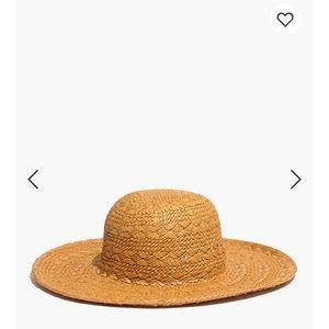 Madewell straw hat M/L